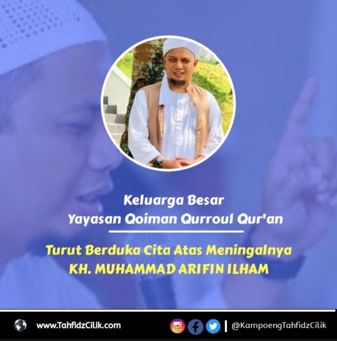Wafatnya KH. M Arifin Ilham