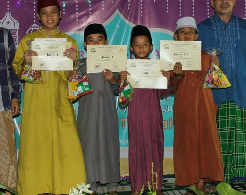 Semarak Kemerdekaan Indonesia bersama Para Hafidz Cilik