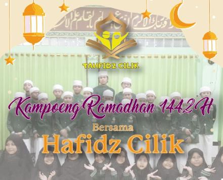 Kampung Ramadhan Bersama Kampoeng Tahfidz Cilik