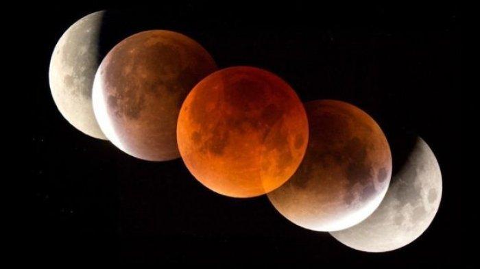 Sholat Sunah Gerhana Bulan 26 Mei 2021 / 14 Syawal 1442 H